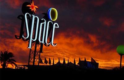 Space op Ibiza
